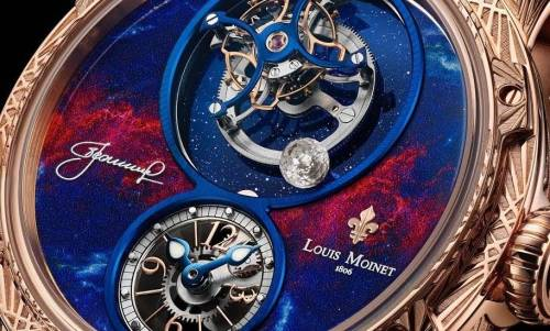 SpaceWalker & Skylink de Louis Moinet