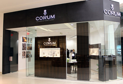 La boutique Corum en el Aventura Mall