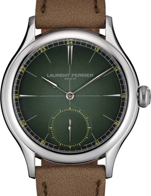 Laurent Ferrier Classic Origin Green - Europa Star wacth magazine 2020