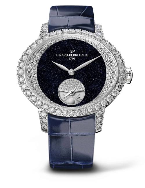 CAT'S EYE NIGHT AND DAY HIGH JEWELLERY DE GIRARD-PERREGAUX