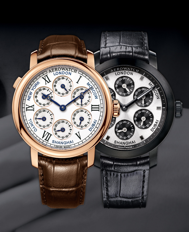 RENAISSANCE 7 TIME ZONES de Aerowatch