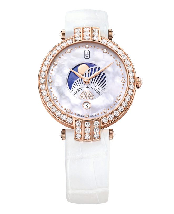 Premier Moon-Phase 36 mm de Harry Winston