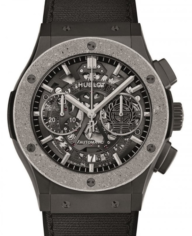 Classic Fusion Aerofusion Chronograph Concrete Jungle de Hublot