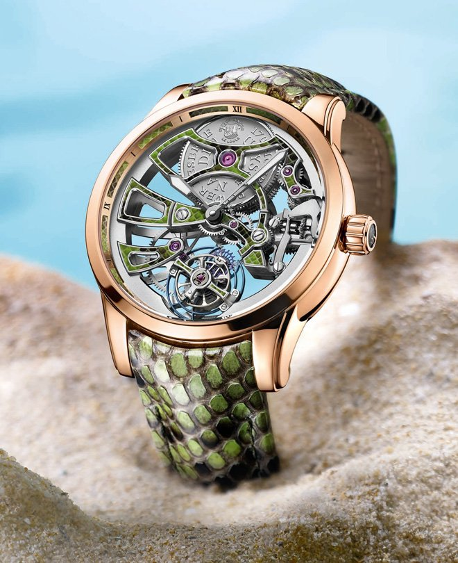 Royal Python Skeleton Tourbillon de Ulysse Nardin