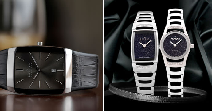 Skagen Denmark Black Label Collection