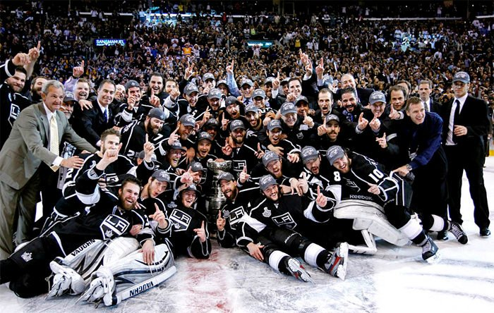 El LA Kings Hockey Team