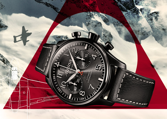 Alpina Startimer Pilot Automatic Chronograph «Black Star»