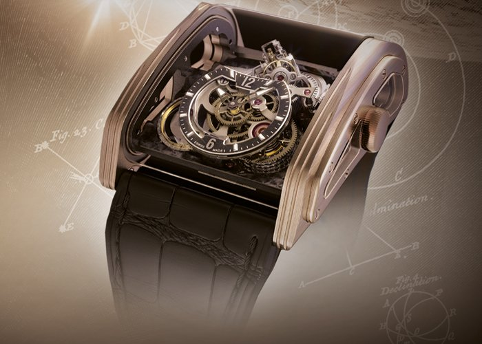 Cabestan - Triple Axis Tourbillon