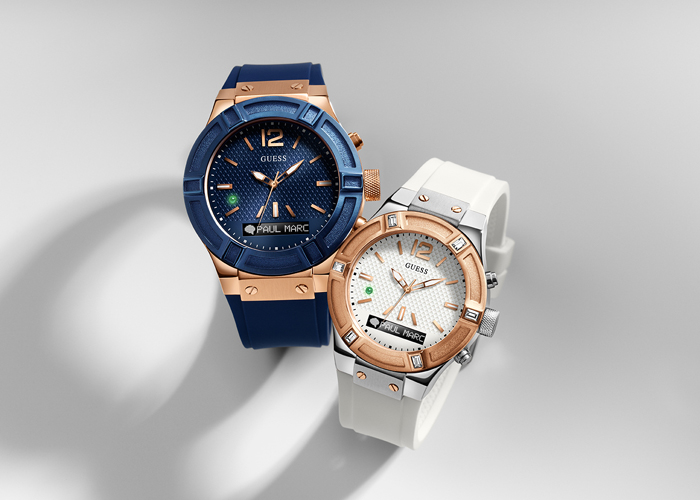 Los Guess Connect smartwatches de Guess Watches y Martian Watches