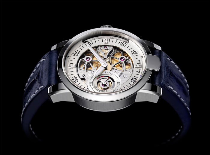 El modelo One Week Skeleton Water Only Watch de Armin Strom
