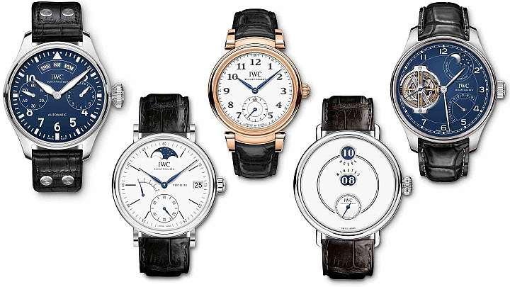 La IWC Jubilee 150th Anniversary Collection