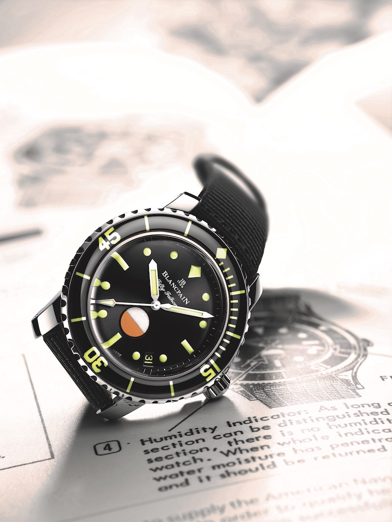 Presentando el Fifty Fathoms MIL-SPEC «Only Watch unique piece»