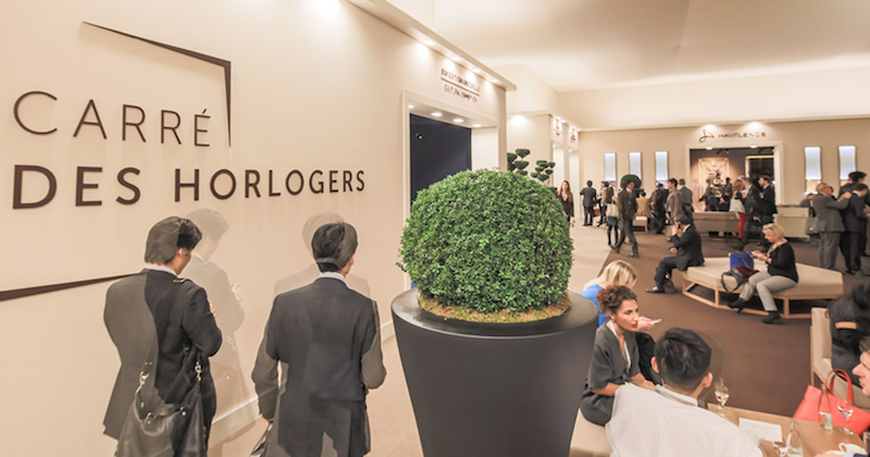 2017 comienza con el Salon International de la Haute Horlogerie