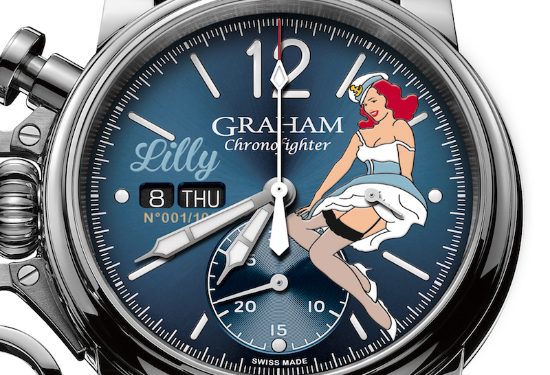 Graham deviene nostálgico con el Chronofighter Vintage Nose Art