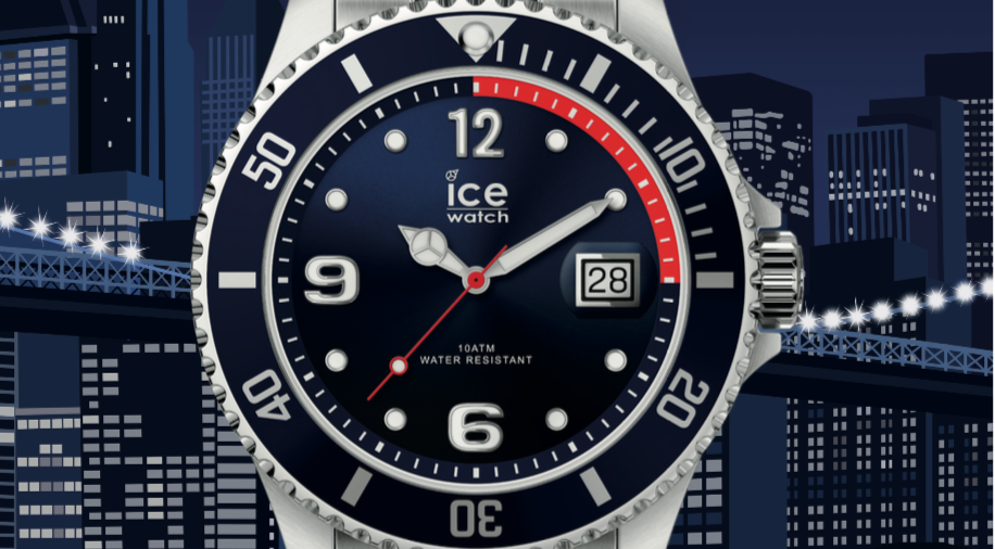 Le modèle Ice Steel.
