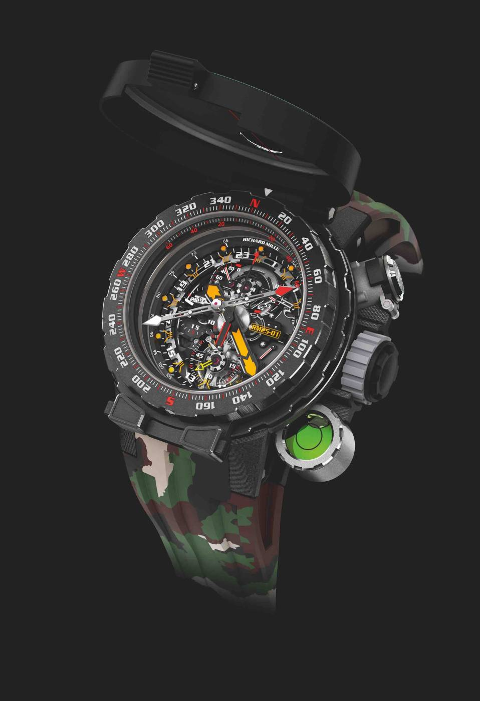 Chronograph Tourbillon RM 25-01 Adventure de Richard Mille